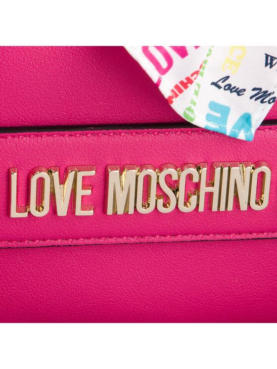 LOVE MOSCHINO LOVE MOSCHINO Torebka JC4248PP07KF0604 Różowy
