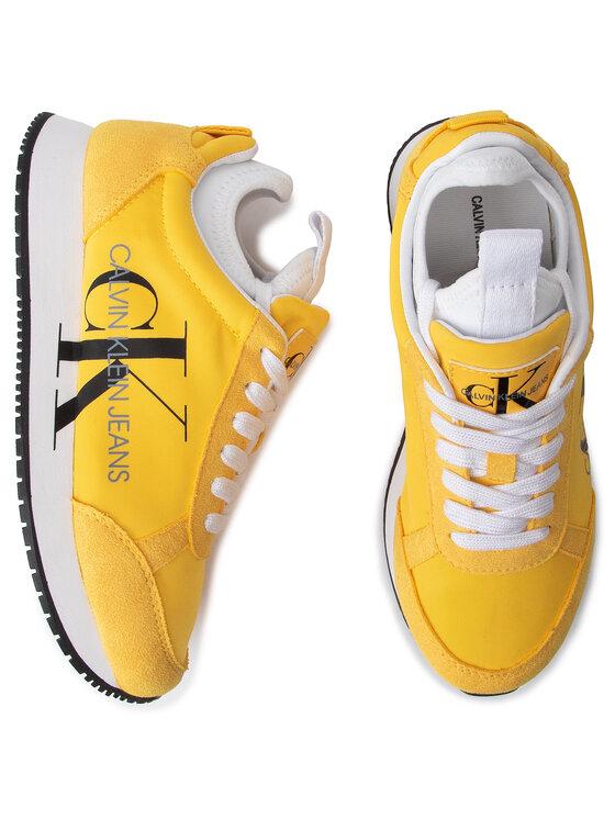 Calvin Klein Jeans Calvin Klein Jeans Sneakersy Josslyn B4R0825 Żółty