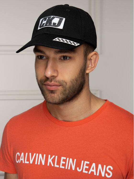Calvin Klein Jeans Calvin Klein Jeans Καπέλο Jockey J Bmx Flat Brim Cap M K50K504558 Μαύρο