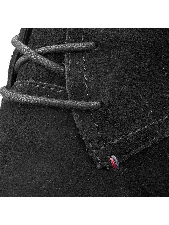 Tommy Hilfiger Tommy Hilfiger Členková obuv Jenina 1B FW56819570 Čierna