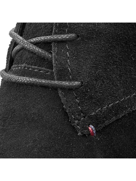 TOMMY HILFIGER TOMMY HILFIGER Μποτάκια Jenina 1B FW56819570 Μαύρο
