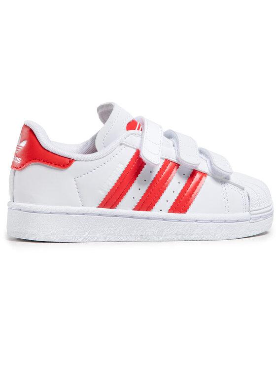 adidas adidas Chaussures Superstar Cf C FZ0643 Blanc