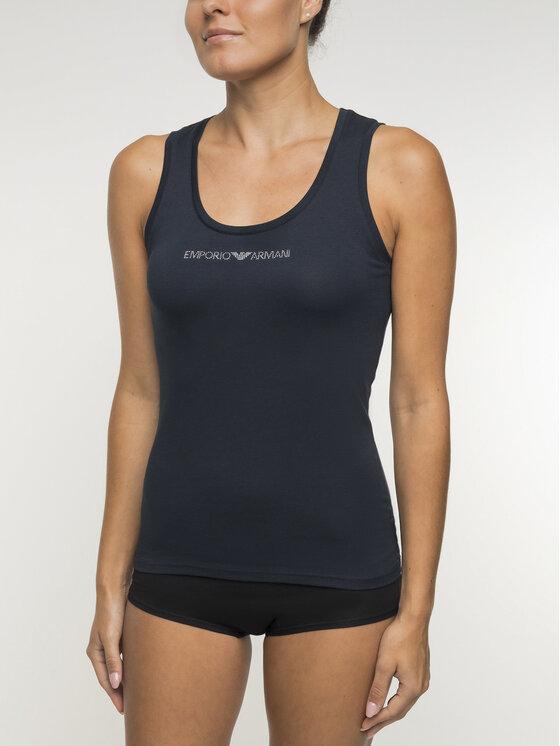 Emporio Armani Underwear Emporio Armani Underwear Top 163319 CC317 00135 Granatowy Regular Fit