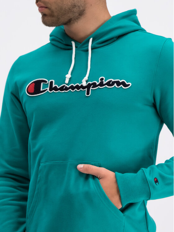 Champion Champion Pulóver 212940 Zöld Regular Fit