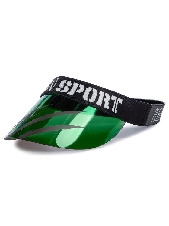 Plein Sport Snapelis Visor Hat 000 MAC0396 STE003N Žalia