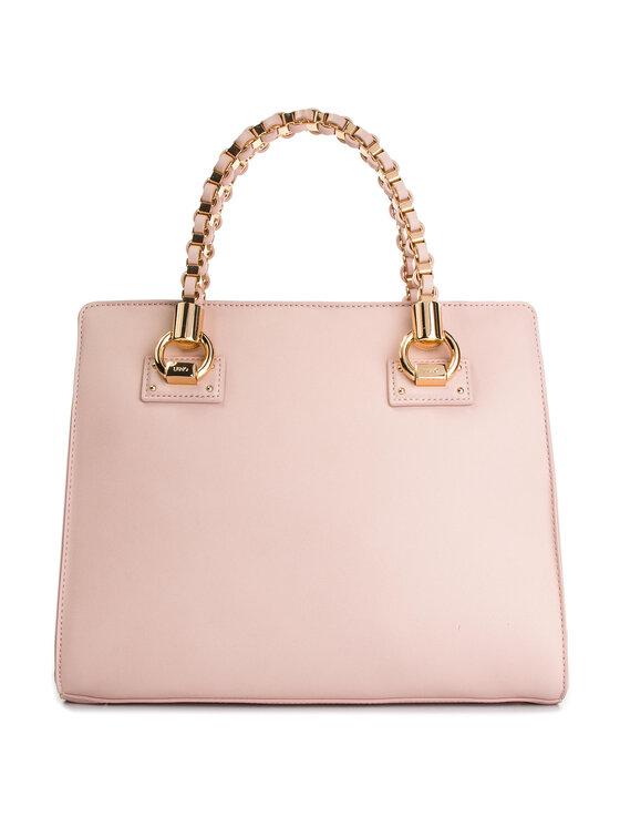 Liu Jo Liu Jo Дамска чанта M Satchel N19100 E0040 Розов