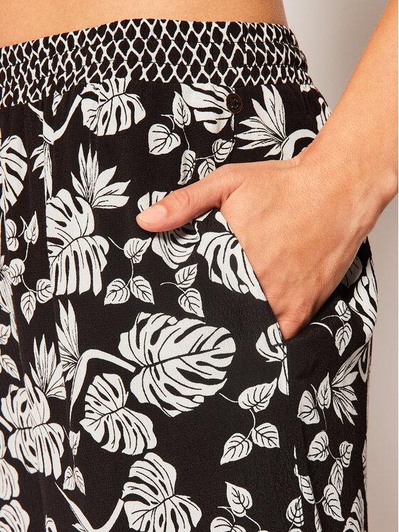 Pennyblack Pennyblack Pantaloni din material Lady 31315019 Negru Regular Fit