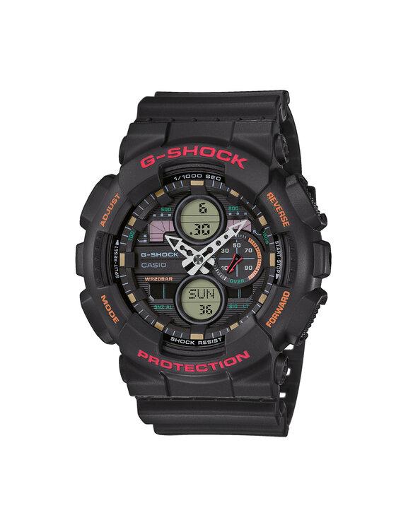 G-Shock Laikrodis GA-140-1A4ER Juoda