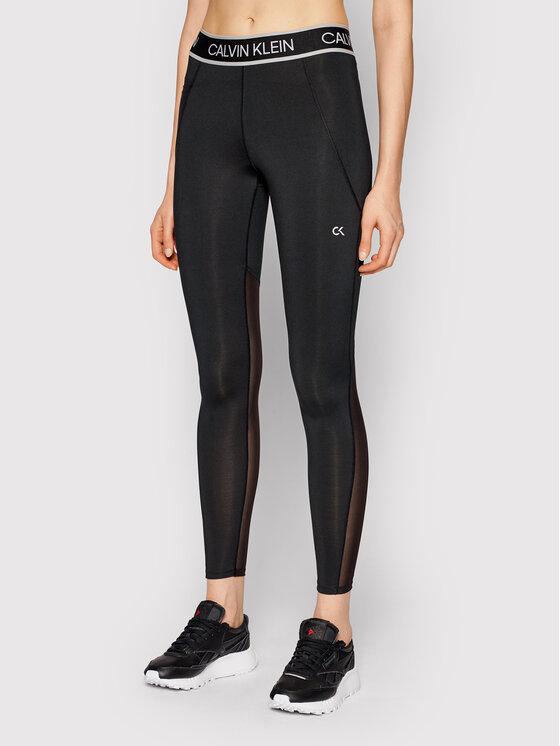 Calvin Klein Performance Leginsai Full Lenght Tight 00GWS1L650 Juoda Slim Fit