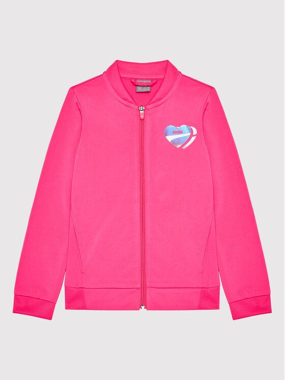 Puma Puma Dres Poly 583317 Różowy Regular Fit