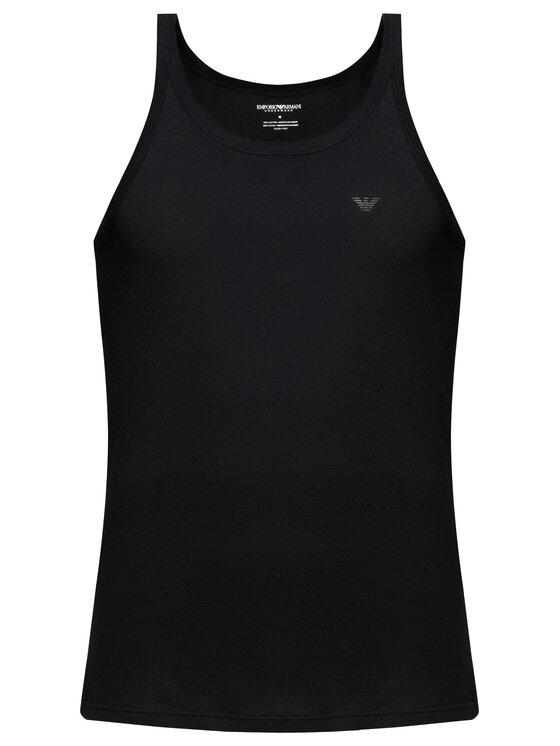 Emporio Armani Underwear Emporio Armani Underwear Lot de 2 débardeurs 111612 CC722 07320 Noir Regular Fit