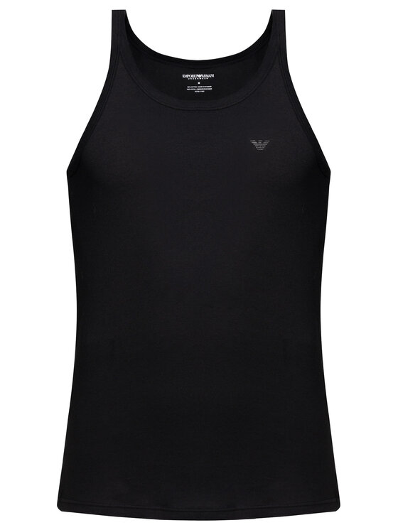 Emporio Armani Underwear Emporio Armani Underwear Súprava 2 tank topov 111612 CC722 07320 Čierna Regular Fit