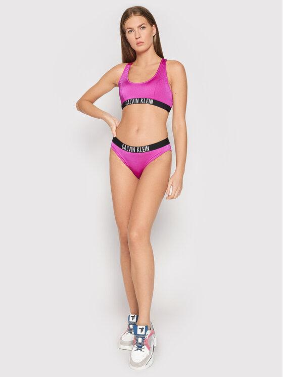 Calvin Klein Swimwear Calvin Klein Swimwear Góra od bikini KW0KW01459 Różowy