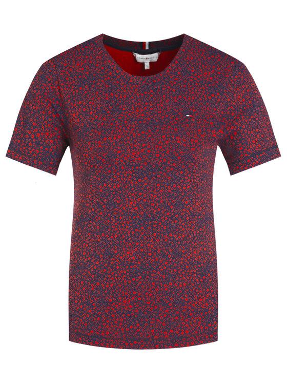 Tommy Hilfiger Tommy Hilfiger T-Shirt Th Essential Round WW0WW27020 Barevná Slim Fit