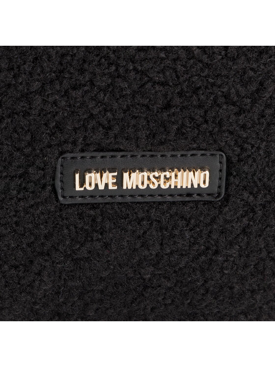 LOVE MOSCHINO LOVE MOSCHINO Tornazsák JC4306PP08KP100B Fekete