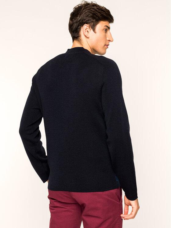 Pierre Cardin Pierre Cardin Sweter 55899/000/92550 Granatowy Regular Fit