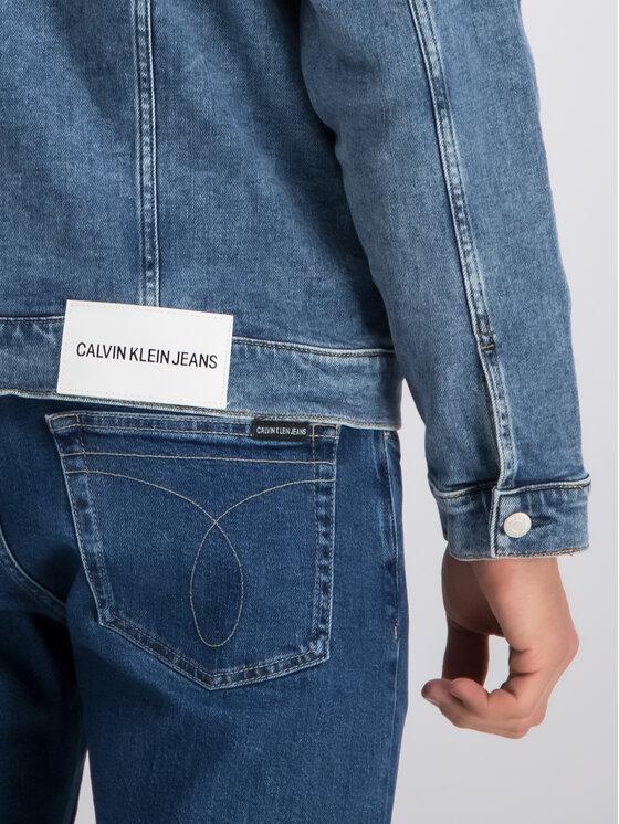 Calvin Klein Jeans Calvin Klein Jeans Giacca di jeans Foundation J30J312821 Blu scuro Regular Fit