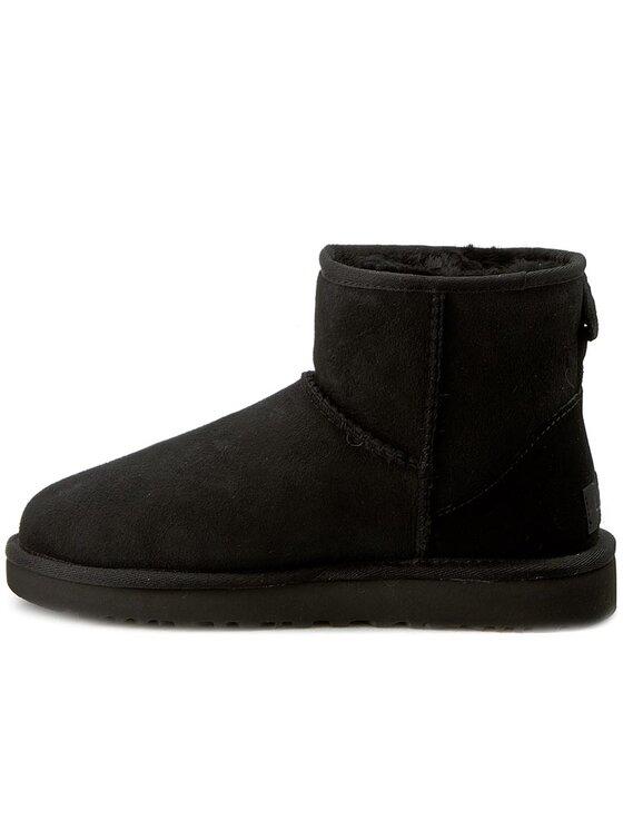 Ugg Ugg Pantofi W Classic Mini II 1016222 Negru