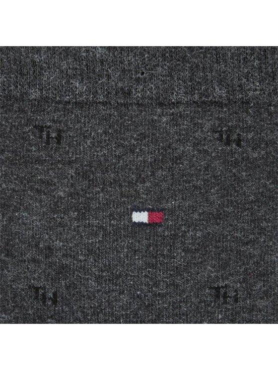Tommy Hilfiger Tommy Hilfiger Zestaw 2 par wysokich skarpet męskich 422018001030 Szary