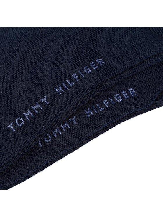Tommy Hilfiger Tommy Hilfiger Σετ κάλτσες σοσόνια ανδρικές 2 τεμαχίων 342023001 Σκούρο μπλε