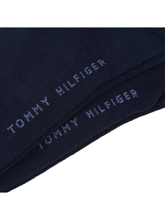 Tommy Hilfiger Tommy Hilfiger Zestaw 2 par stopek męskich 342023001 Granatowy