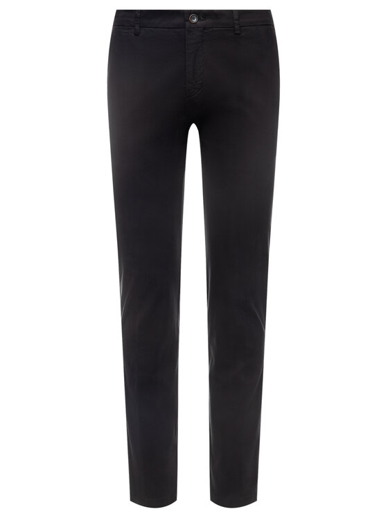 Tommy Hilfiger Tailored Tommy Hilfiger Tailored Pantaloni di tessuto Flex TT0TT06924 Nero Slim Fit