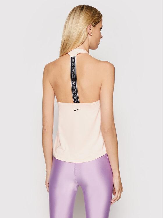 Nike Nike Top Pro CJ3934 Różowy Regular Fit