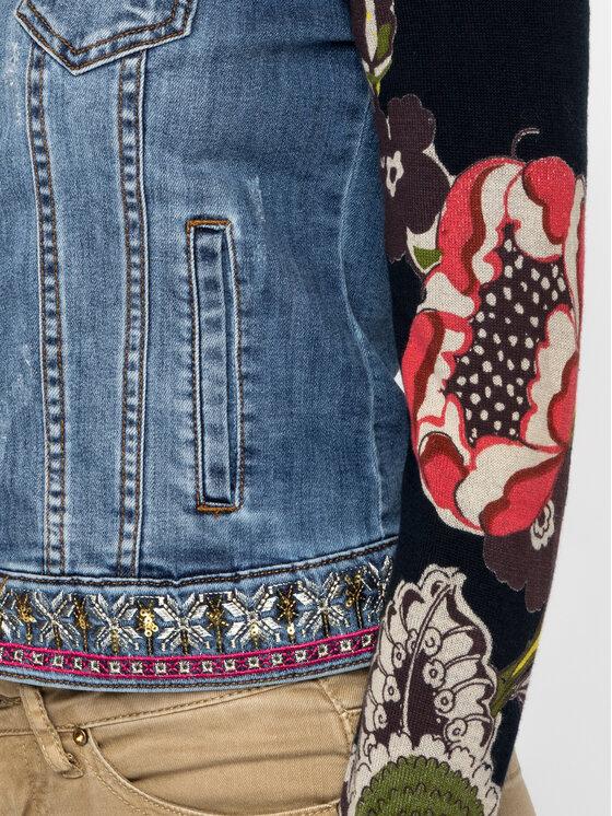 Desigual Desigual Jeansová bunda 19WWED30 Tmavomodrá Regular Fit