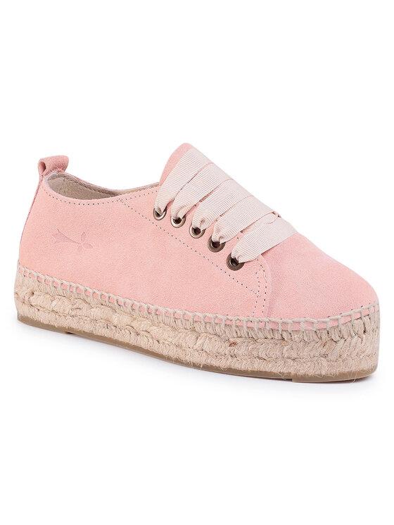 Manebi Manebi Espadryle Sneakers D W 1.4 E0 Różowy