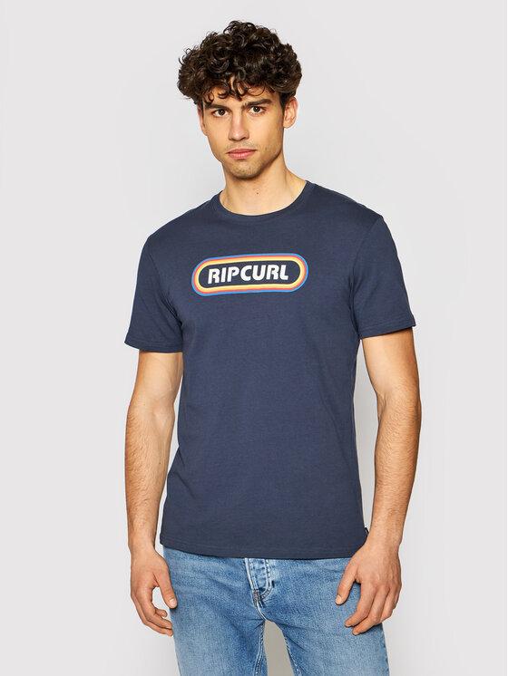 Rip Curl Marškinėliai Surf Revival Hey Muma CTERP9 Tamsiai mėlyna Standard Fit