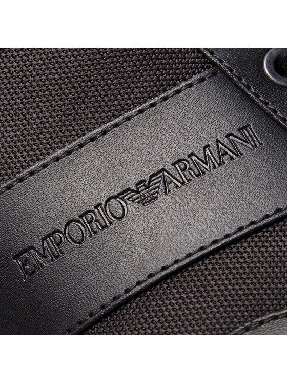 Emporio Armani Emporio Armani Сникърси X4C475 XL473 K001 Черен