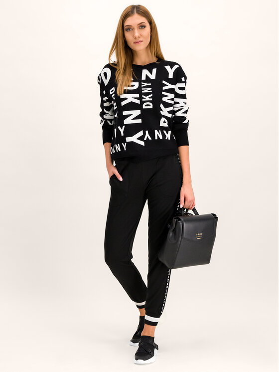 DKNY DKNY Maglione P9HS8433 Nero Regular Fit