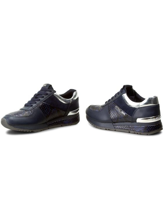 MICHAEL Michael Kors MICHAEL Michael Kors Sneakers Allie Wrap Trainer 43F5ALP1E Blu scuro