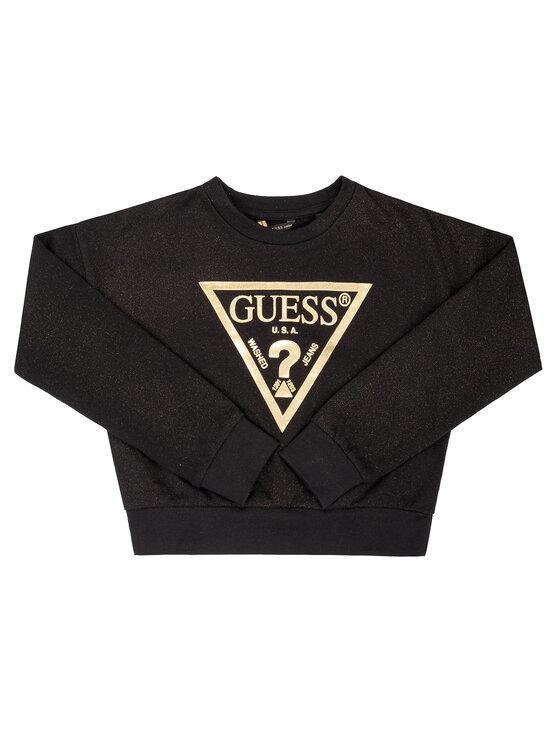 Guess Guess Džemperis J94Q24 K8D80 Juoda