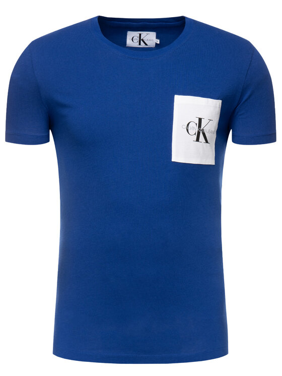 Calvin Klein Jeans Calvin Klein Jeans T-Shirt J30J312993 Σκούρο μπλε Regular Fit