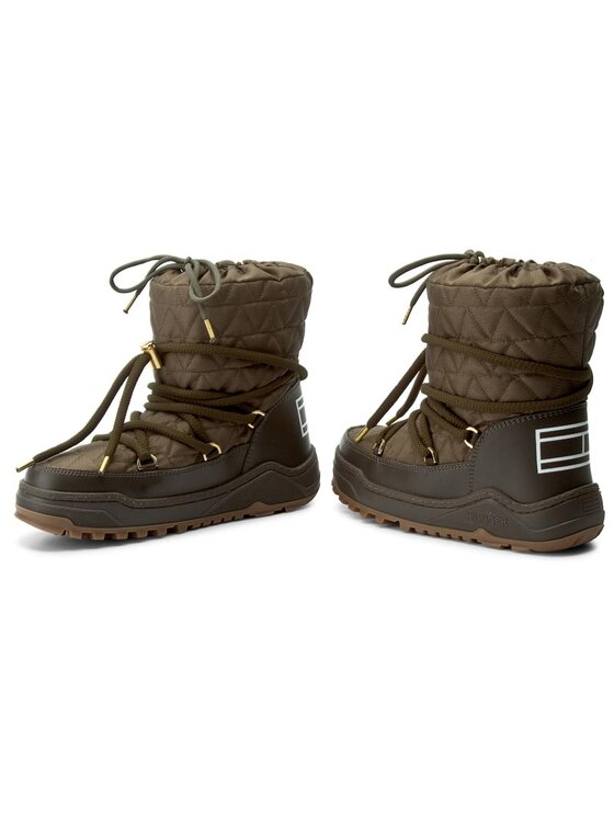 Tommy Hilfiger Tommy Hilfiger Обувки Wanda 6D FW56822020 Зелен