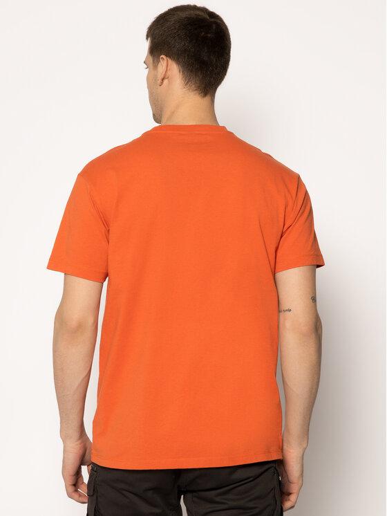 Napapijri Napapijri Тишърт Sase SS 1 NP0A4EG8A Оранжев Regular Fit