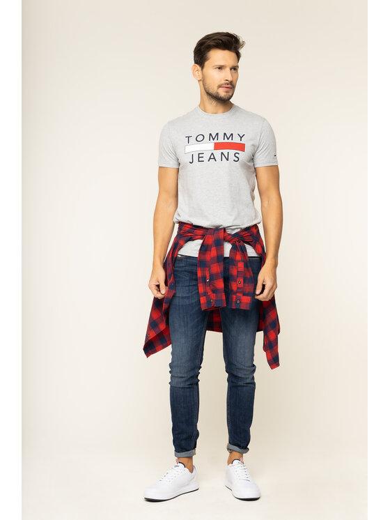 Tommy Jeans Tommy Jeans T-shirt Tjm Essential Logo DM0DM07430 Grigio Regular Fit