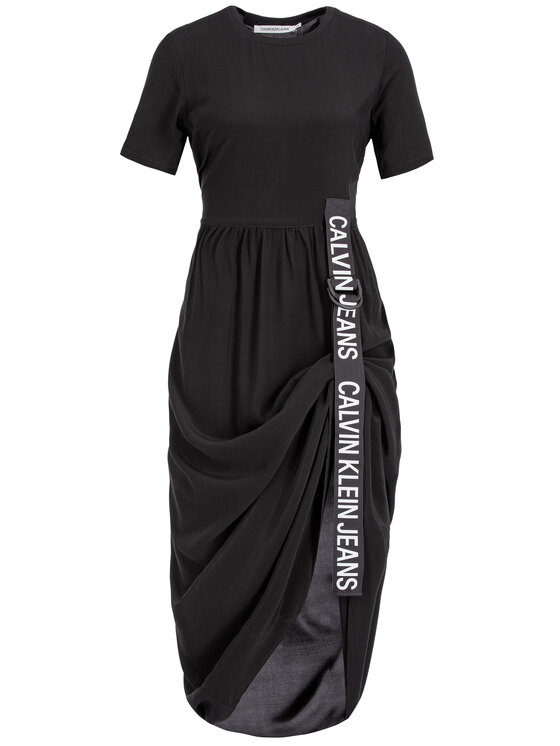 Calvin Klein Jeans Calvin Klein Jeans Kasdieninė suknelė J20J212265 Juoda Regular Fit