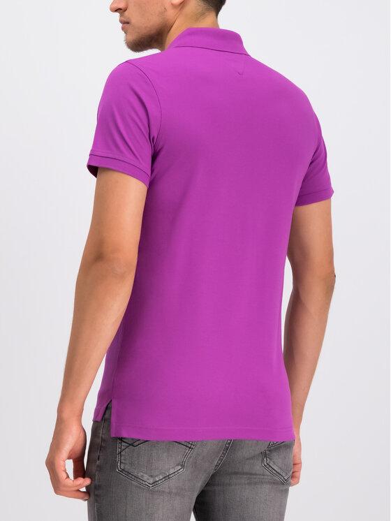 Tommy Hilfiger Tommy Hilfiger Polohemd MW0MW10764 Violett Slim Fit