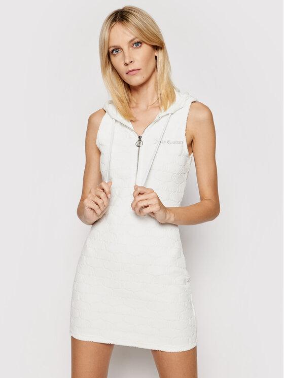 Juicy Couture Kasdieninė suknelė Nova JCWE121010 Balta Slim Fit