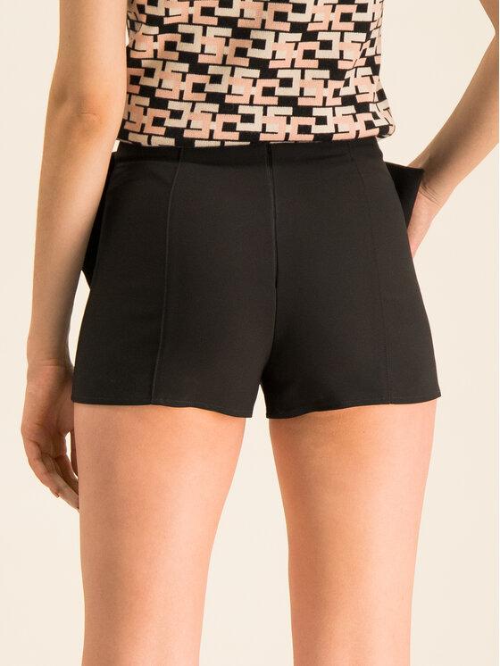 Elisabetta Franchi Elisabetta Franchi Pantalon scurți din material SH-027-92E2-V169 Negru Slim Fit