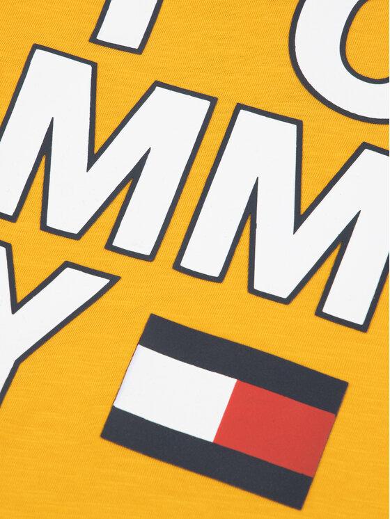Tommy Hilfiger Tommy Hilfiger T-Shirt Multi Application KB0KB05428 M Gelb Regular Fit