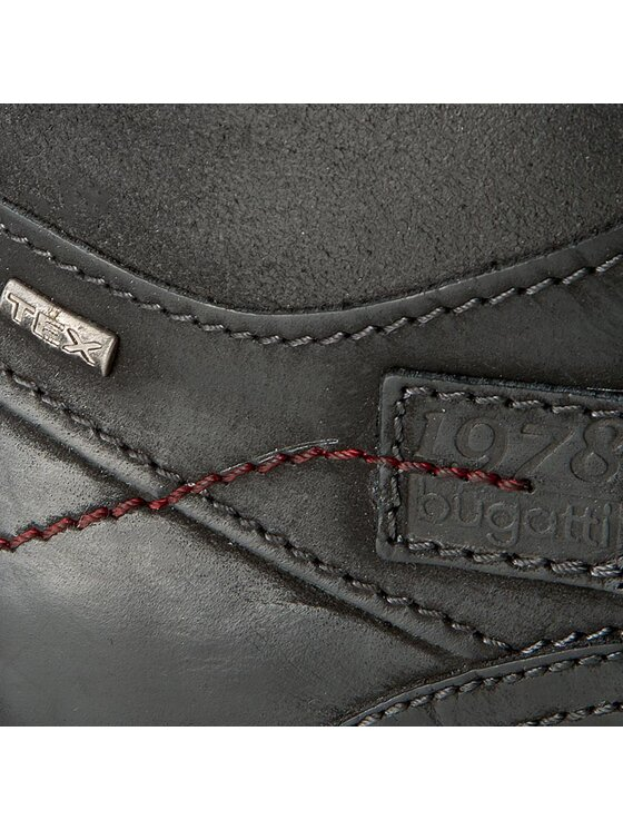 Bugatti Bugatti Turistická obuv U89594-100 Černá