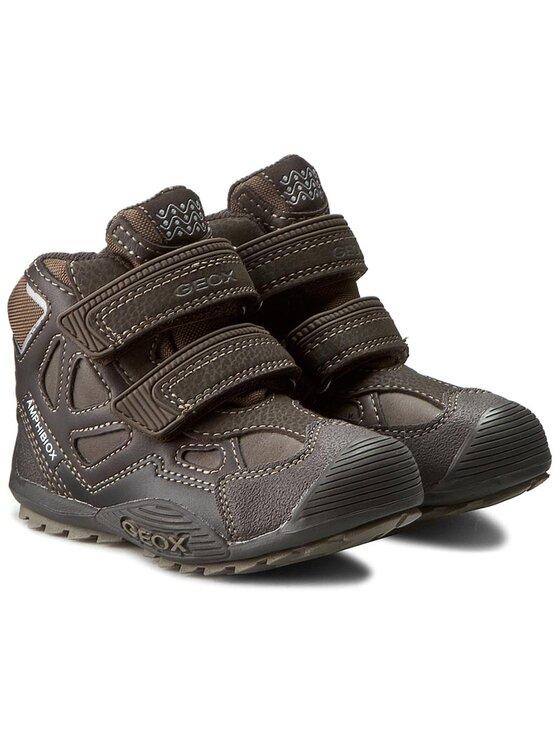 Geox Geox Обувки J Savage B Abx D J5424D 05411 C0083 Кафяв