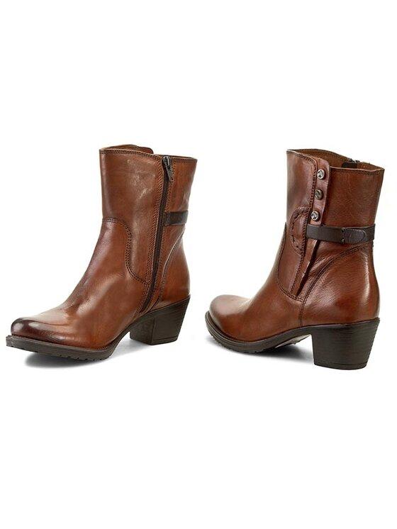 Clarks Clarks Členková obuv Maymie Skye 261035294 Hnedá