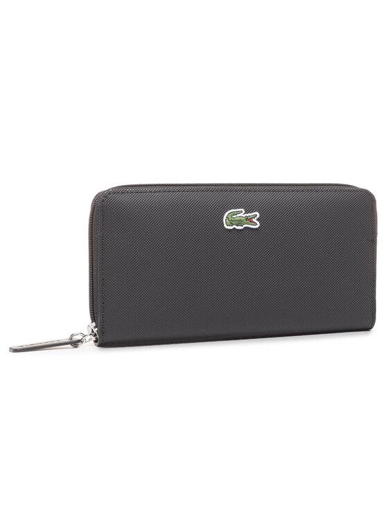 Lacoste Didelė Moteriška Piniginė L Zip Wallet NF2900PO Juoda