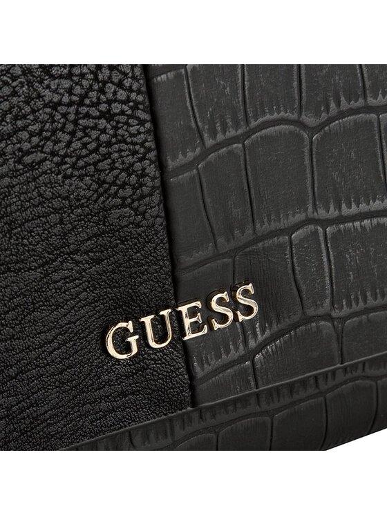Guess Guess Duży Portfel Damski Casey SLG SWCG45 64660 Czarny