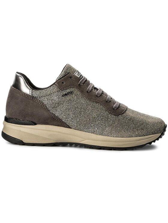 Geox Geox Sneakersy D Airell B D642SB 0EW22 C1G9F Srebrny