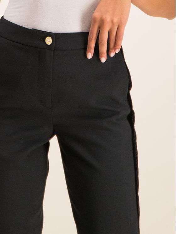 Just Cavalli Just Cavalli Pantaloni di tessuto S04KA0231 Nero Regular Fit